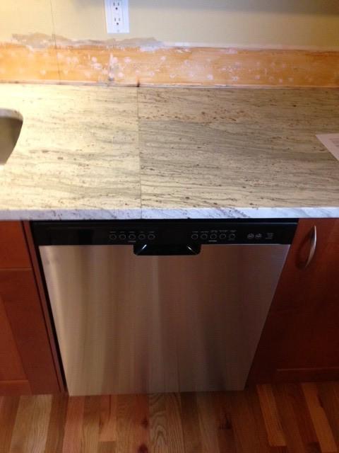 Granite Countertop Dishwasher Installation : Mismatched Granite Seam over Dishwasher--Need Advice