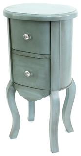 Jada Wooden Cabinet, Light Blue