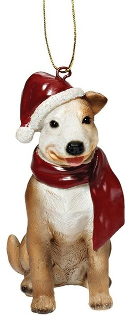 Pitbull Christmas Ornament.Pitbull Ornament