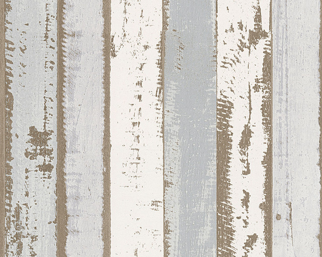 Modern Non Woven Wood Wallpaper For Accent Wall Authentic Walls