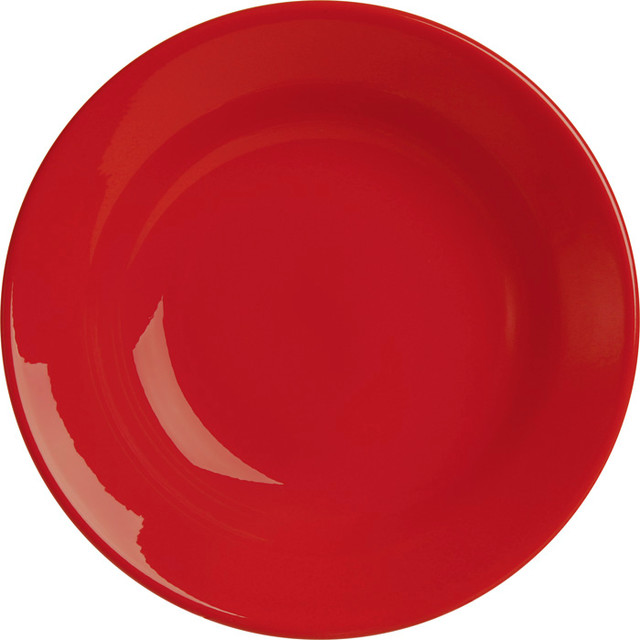 Modern Kitchen Plates: Set Of 4 Fun Factory Soup Plates