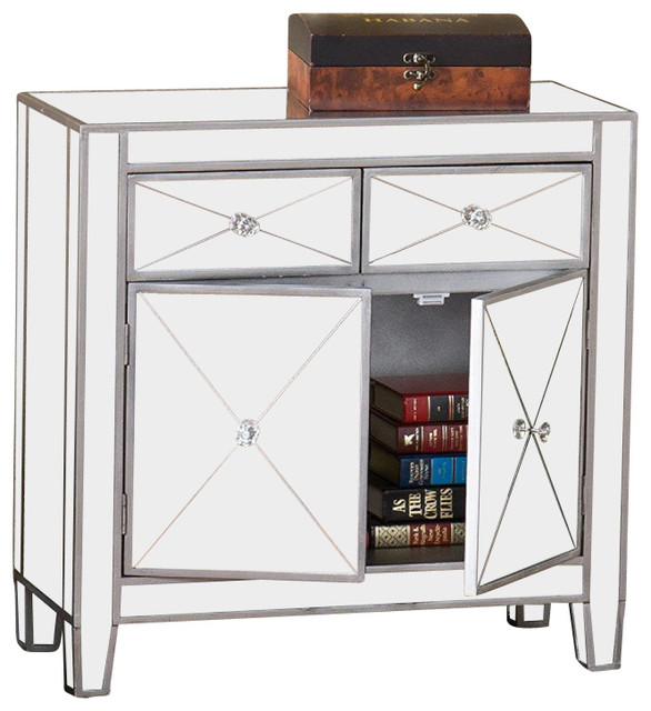 ... Inc Mirrage Contemporary Mirrored Cabinet contemporary-filing-cabinets