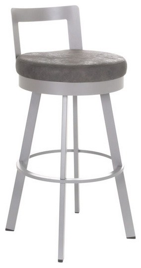 Low Back Swivel Stool Modern Bar Stools And Counter