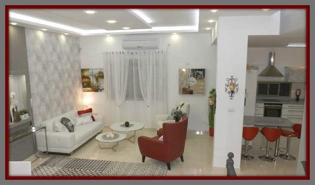 designing a modern living room (salon) modern-living-room