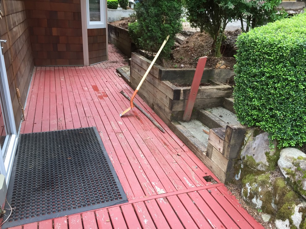Before Entry Step Renovation