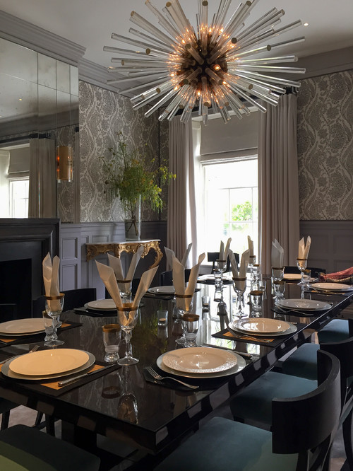 A london townhouse dining room for Dining room ideas for townhouse