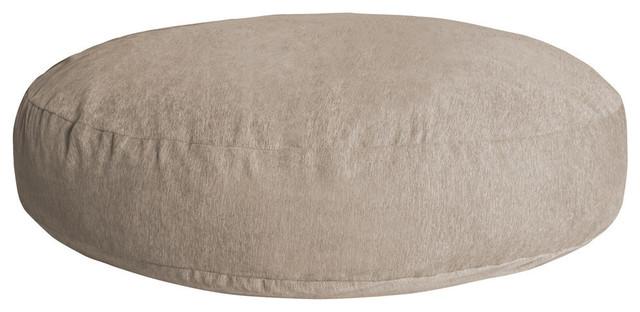 Marvelous Jaxx Cocoon Bean Bag Sofa With Chenille Cover Beige Uwap Interior Chair Design Uwaporg