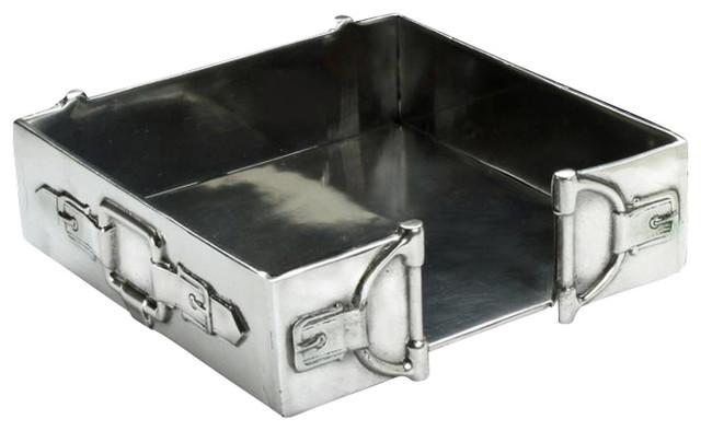 Arthur Court Equestrian Tail Napkin Box