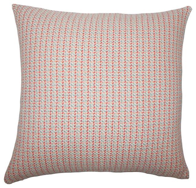 The Pillow Collection Paley Plaid Bedding Sham Apricot