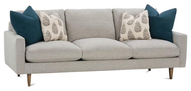 """Oslo Chenille 92"""" Sofa contemporary-sofas"""