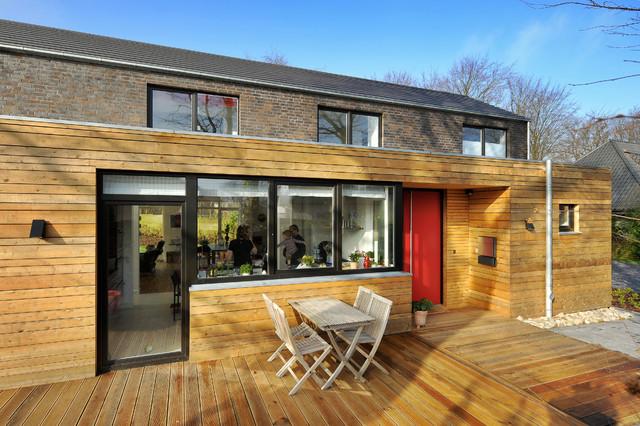neubau wohnhaus solit der bogen flensburg. Black Bedroom Furniture Sets. Home Design Ideas