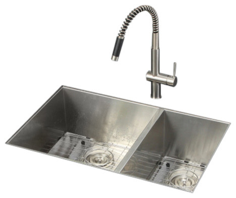 Ruvati Rvc2619 Stainless Steel Kitchen Sink And Stainless