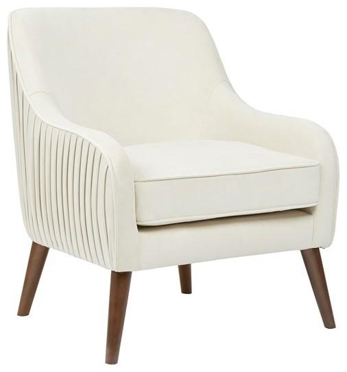 Great Madison Park Haley Wood Chair, Cream