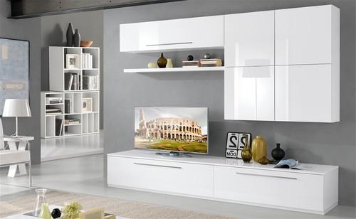 Disposizione mobili della sala for Mobile parete sala