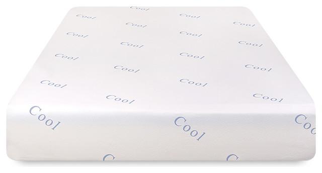 """12"""" Cool And Gel Memory Foam Mattress, Full."""