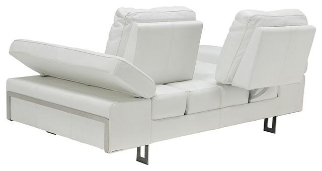 Gia White Sofa.