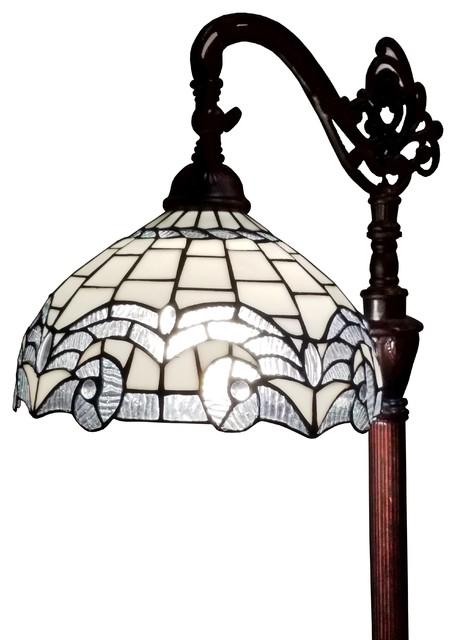 Castile 1-Light Floor Lamp, Gold Leaf