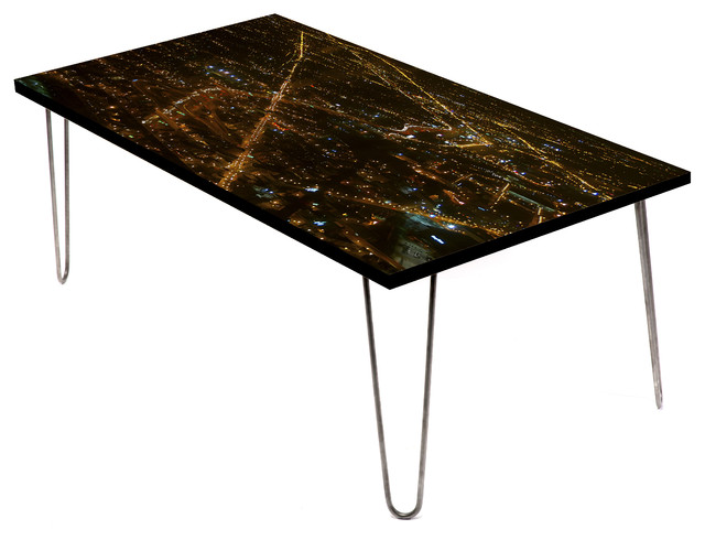 Look West Chicago 24 Coffee Table Contemporary Coffee Tables By Lamou