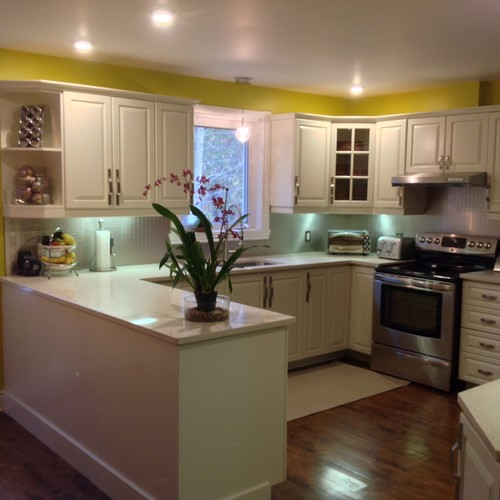 to see more of this home check out our project called   rigaud reno   on our houzz profile  not all kitchen makeovers require a full scale renovation   rh   houzz com