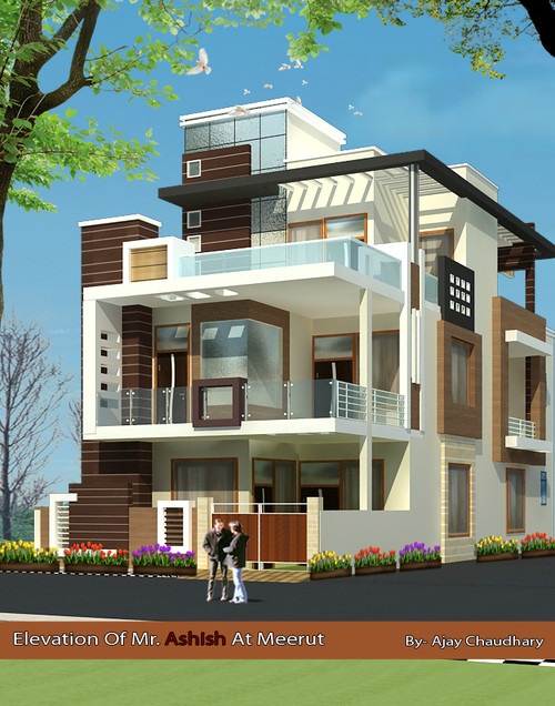 Latest house front elevation photos joy studio design for Latest house elevation