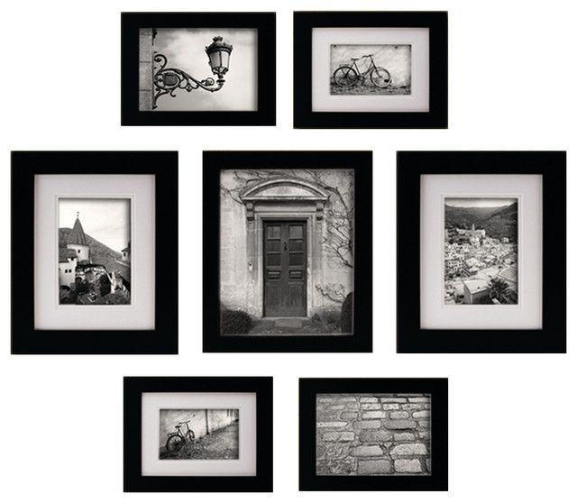 7-Piece Snapshot Gallery Set - Traditional - Picture Frames - by ...