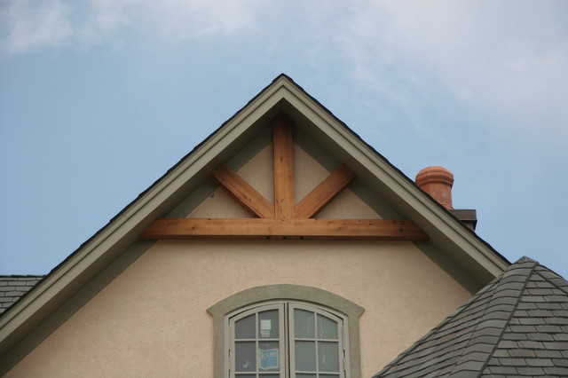 Gable End Details Rustic Raleigh