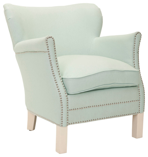 Jenny Arm Chair, Robins Egg Blue