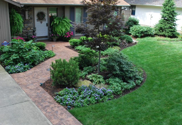 Landscaping Ideas Ohio : Strongsville contemporary cleveland by lifestyle