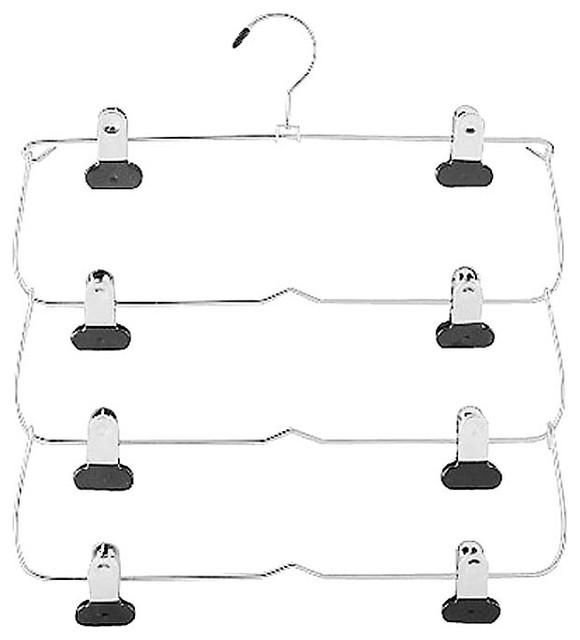 Whitmor 4-Tier Folding Skirt Hanger.