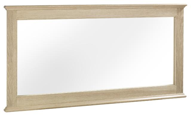Bourne Wooden Rectangular Wall Mirror.