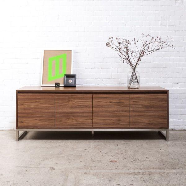 Annex credenza modern new york by zin home for Modern office credenza furniture