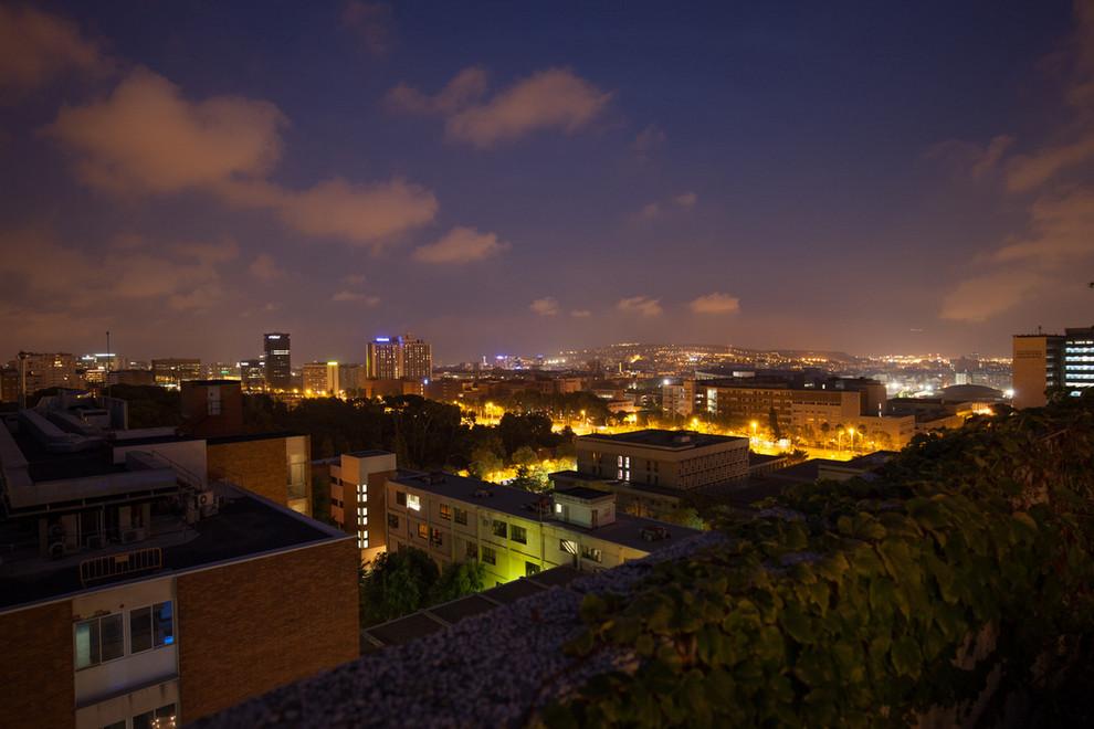 Ático con vistas a Barcelona