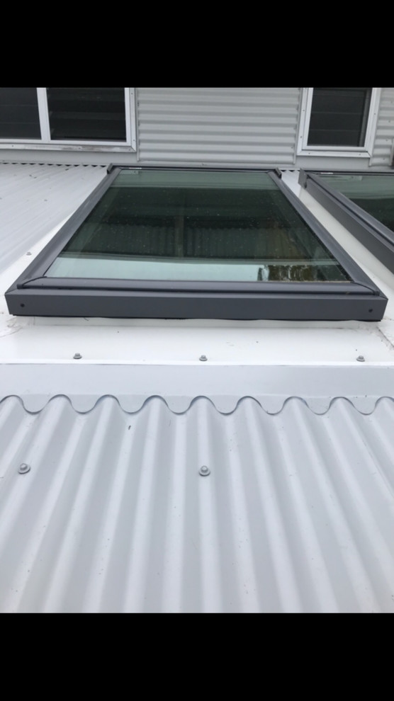 Completed Works Roof Flashing