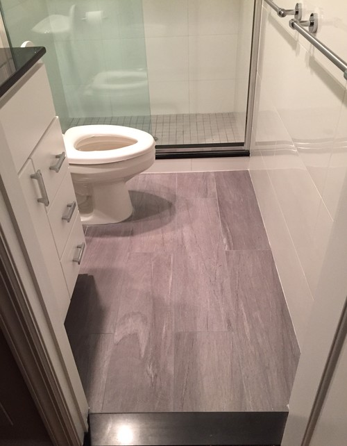 tiling in bathrooms can i use 12x24 floor tiles in a small bathroom 14760