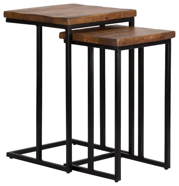 Lewis 2-Piece Nesting Table Set.