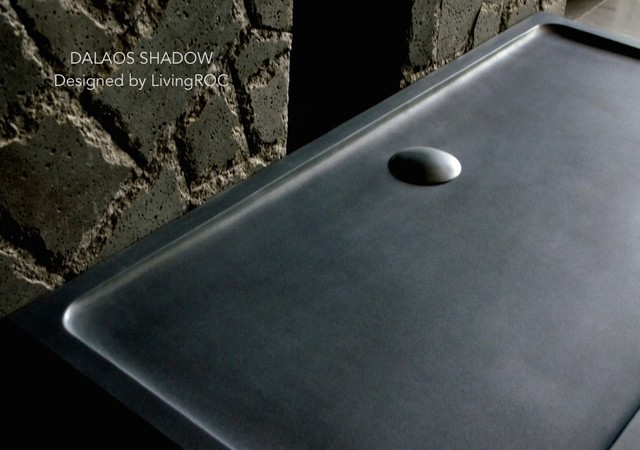 72 x 36 granite shower base black stone dalaos shadow for Mirror 72x36