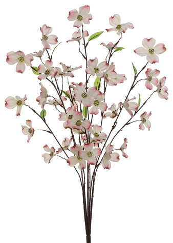 Silk plants direct dogwood bush pack of 12 traditional silk plants direct dogwood bush pack of 12 pink mightylinksfo