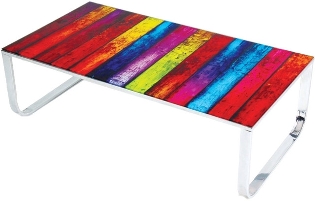 Furniture Import U0026 Export Inc.   Jackson Pollock Inspired Coffee Table   Coffee  Tables