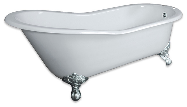 Awesome Clawfoot Tub Deck Mount Faucet
