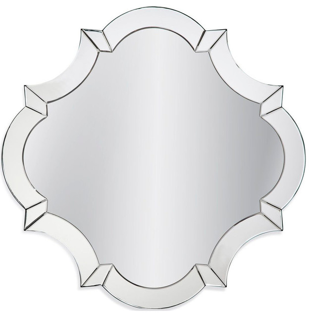 Bassett Hollywood Glam Cecilia Wall Mirror by BASSETT MIRROR CO.