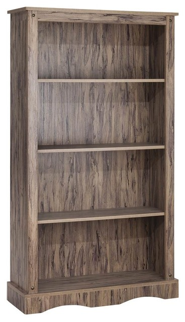 4-Shelf Bookcase, Maple Finish by Elegant Home Fashions
