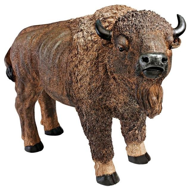 American Buffalo Statue