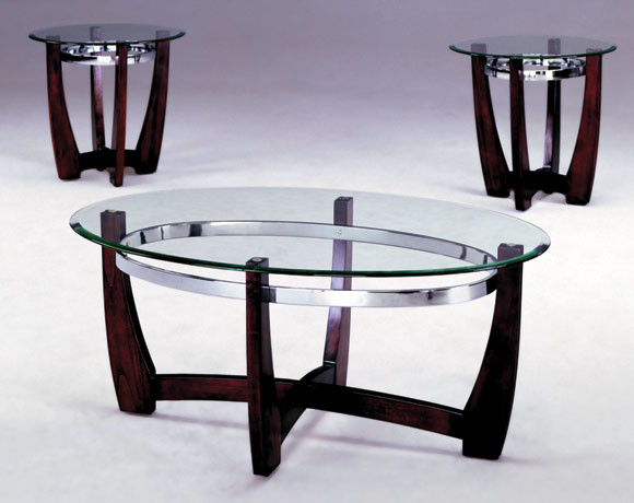 Mitchell 3 Piece Table Set Modern Columbus By American Freight