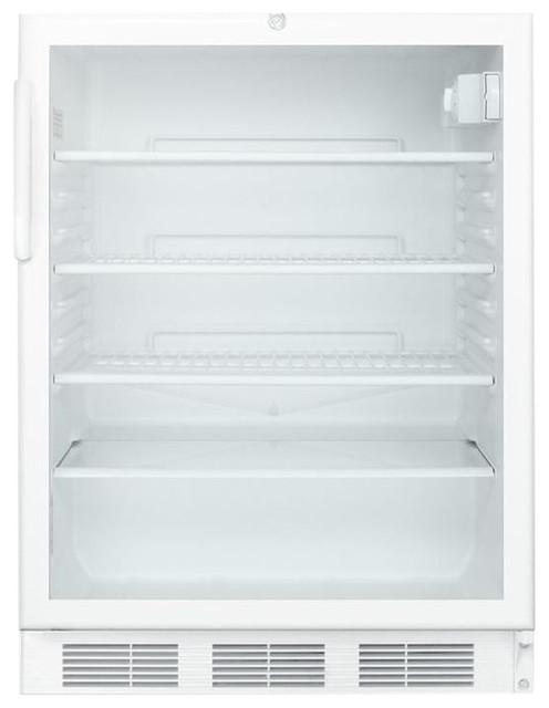 """Commercial, Built - In, 24""""w Refrigerator For Ada Scr600lbiada."""