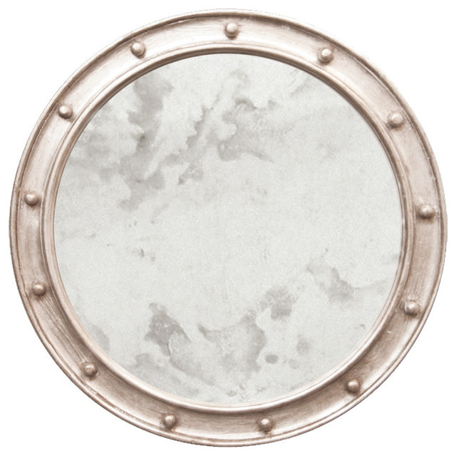 Round Antique Style Mirror Wall Mirrors By Benjamin Rugs And Furniture