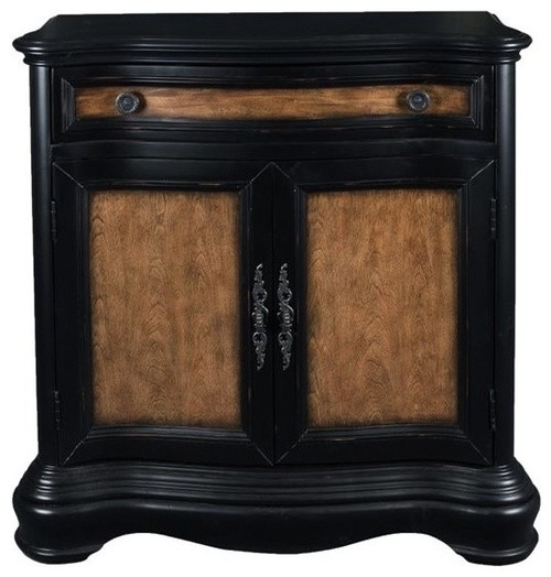 Pulaski Accentrics Home Clarendon Two Tone Accent Chest, Black