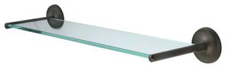 Classic Glass Shelf, Oil Rubbed Bronze