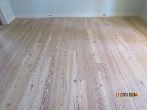 1 Reclaimed Heart Pine Hardwood Flooring Stain Color Is