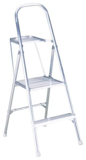 Werner 4.5&x27; Aluminum Project Step Ladder.