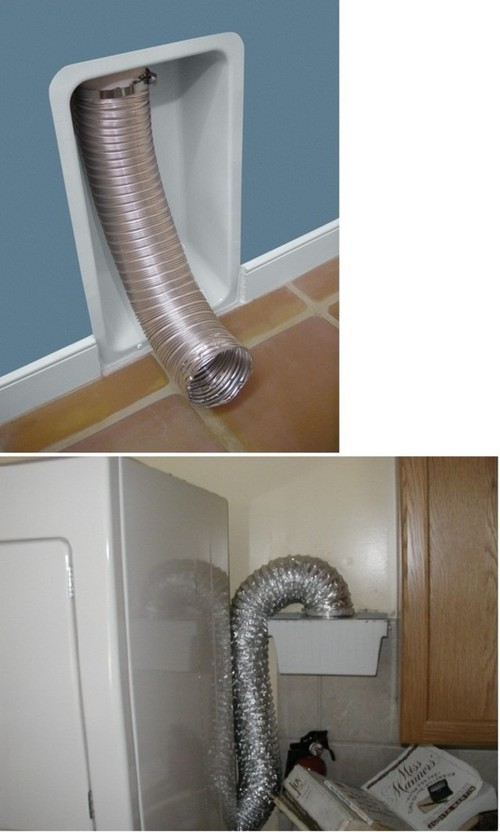 how to clean out pvc dryer vent